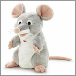 Mouse hand puppet by Trudi