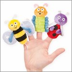 Bumbling Bugs - Fingerpuppen-Set (3 Figuren)