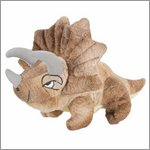 Triceratops - large dinosaur finger puppet