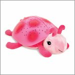 Twilight Ladybug magic LED night light - pink - by cloud b