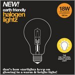 earth friendly - halogenlightz 18 W for starlightz