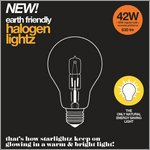 earth friendly - halogenlightz 42 W for starlightz