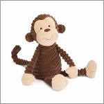 Cordy Roy baby monkey - cuddly toy from Jellycat