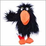 Handpuppe Vogel Thank You - Bird Mail von Living Puppets