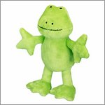 Soft toy frog Ole - the lovely seven by Spiegelburg