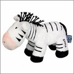 Soft toy zebra Emma - the lovely seven by Spiegelburg