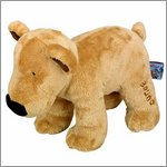 Soft toy bear Bruno - the lovely seven by Spiegelburg