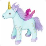 Soft toy unicorn Blue - princess Lillifee by Spiegelburg