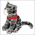 Soft toy cat Lisa - funny animal paradeby Spiegelburg