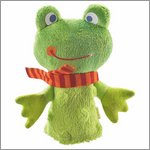 Frog - finger puppet by HABA