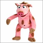 Living Puppets hand puppet Stulle the pig