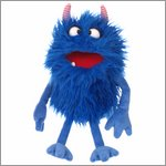 Living Puppets hand puppet Schmackes - Monster to go!