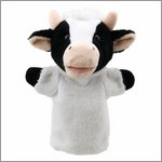 Hand puppet cow