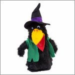 Hand puppet raven-witch Abrasax - KERSA Classic