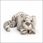 Sacha Snow Tiger Little - cuddly toy from Jellycat