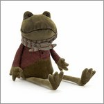 Riverside Rambler Frog - cuddly toy from Jellycat